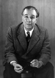Portrait of Jorge Luis Borges in 1951 (Grete Stern)